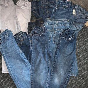 Bundle of boys jeans (4T) good condition